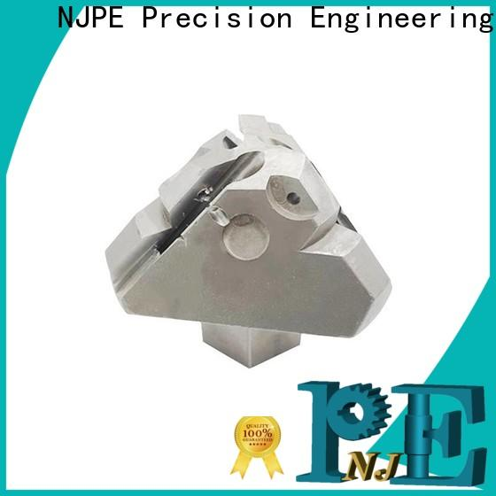 NJPE good quality metal machining parts manufacturers for industrial automation