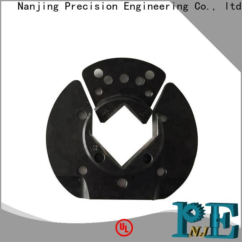 NJPE cnc metal assemblies supply for air valve