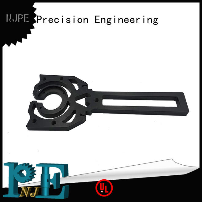 NJPE keyway machine parts simple operation for automobile