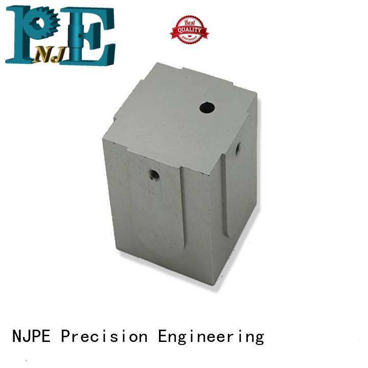 NJPE turned rapid cnc in china for equipments