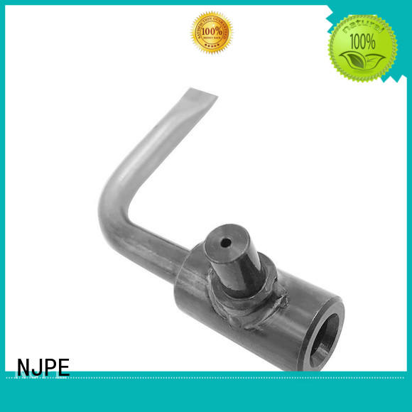NJPE pipe bending works marketing for industrial automation
