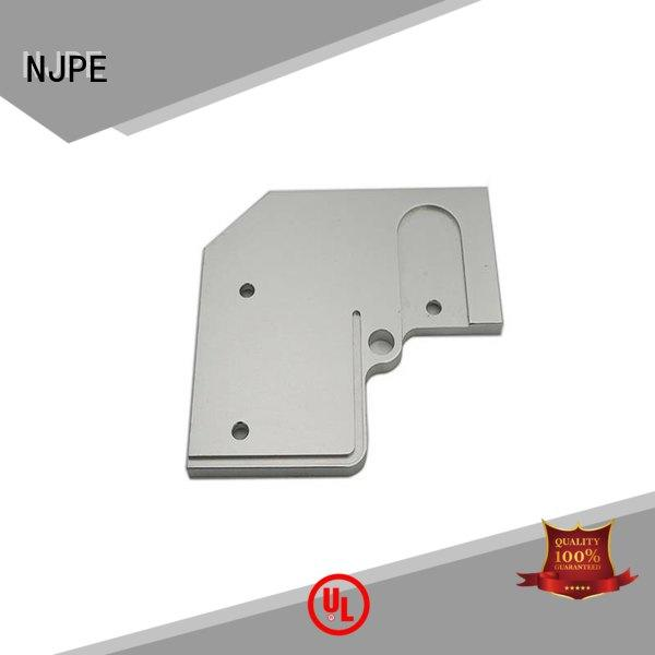NJPE professional machining process custmized for equipements