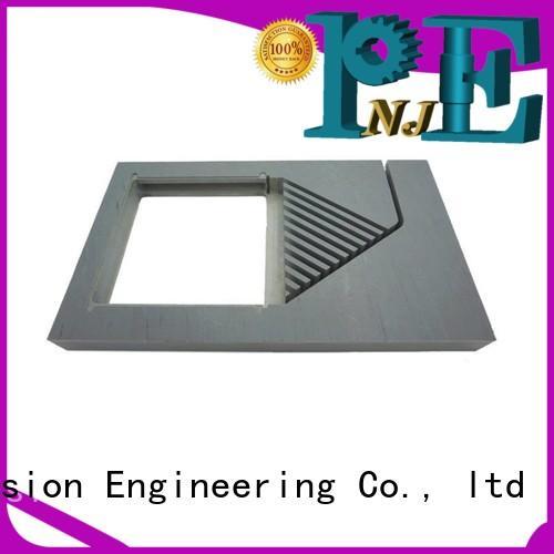NJPE hexagonal high speed machining in china for air valve