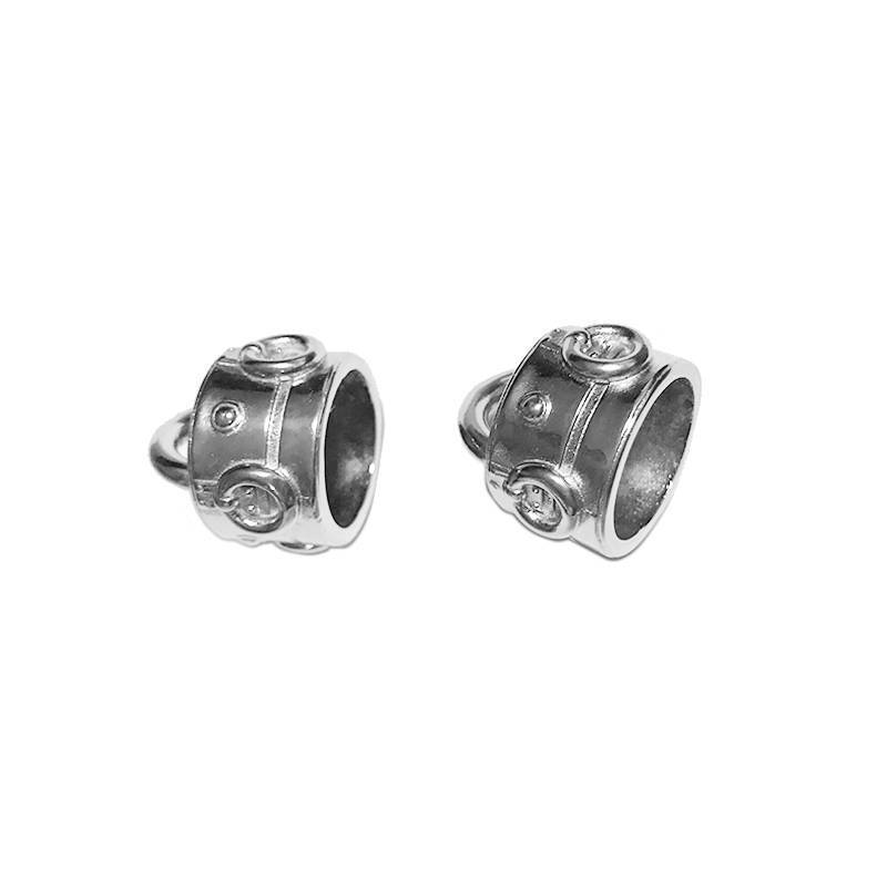 Custom casting and machining stainless steel jewelry part