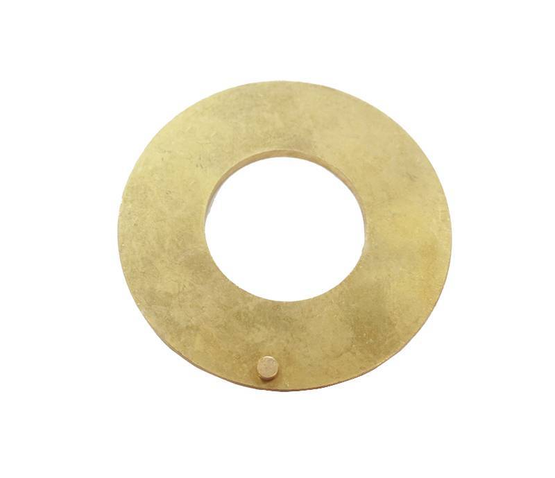 precision cnc machining brass plate with pillar