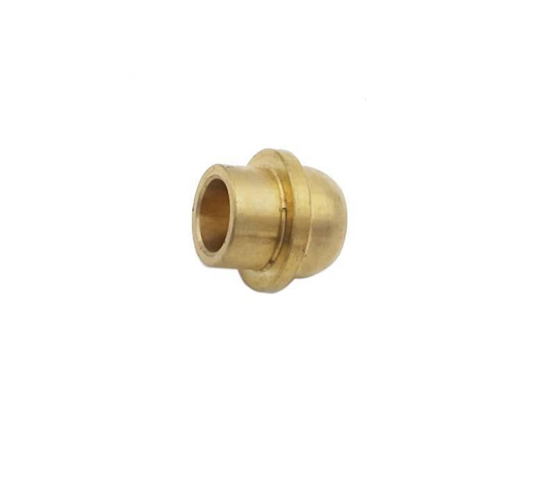 Custom high precision cnc brass machining bulb