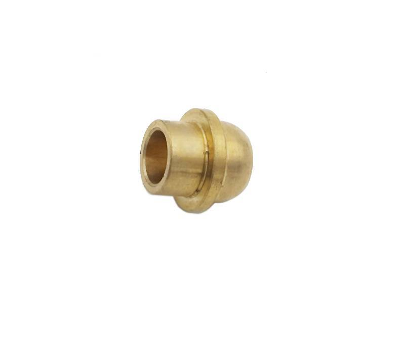 Custom high precision cnc brass machining bulb