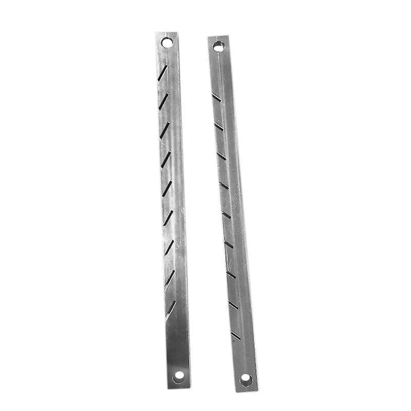 OEM good quality 40° slotted bar machining parts