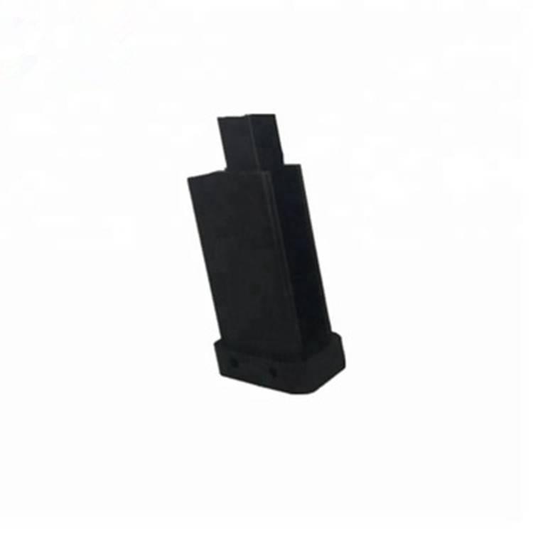 Custom black ABS internal cnc components rack