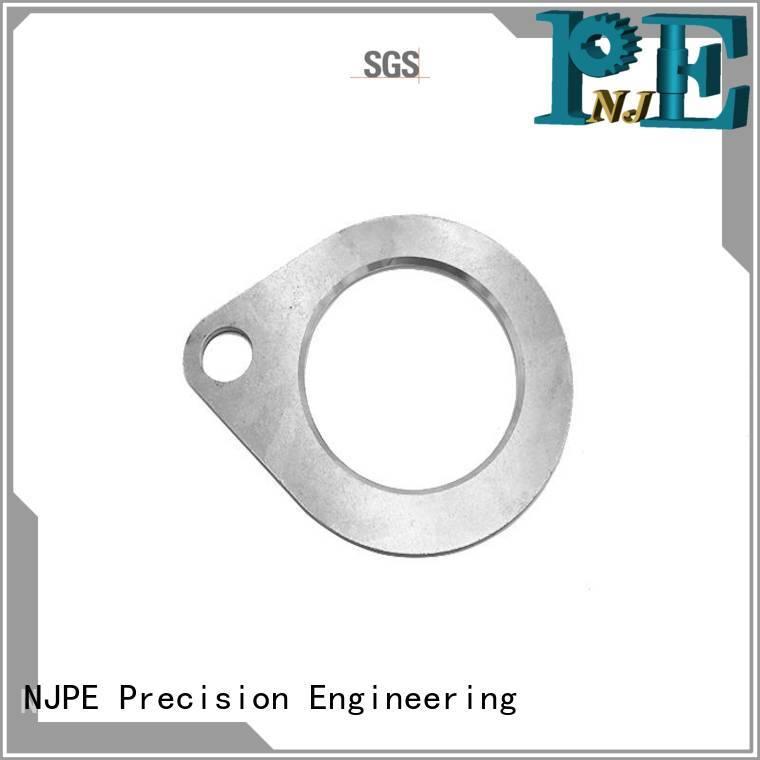 NJPE aluminum water jet machining process factory price for automobile