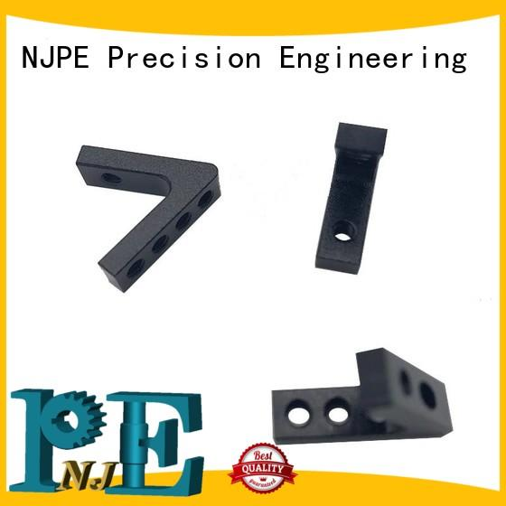 NJPE components precision parts in china for equipements