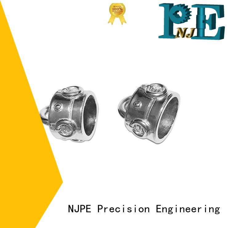 NJPE good quality 5 axis cnc machining services manufacturer for equipments