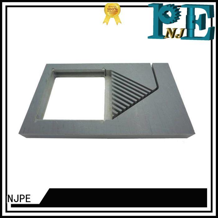 NJPE valve cnc metal parts manufacturers for industrial automation