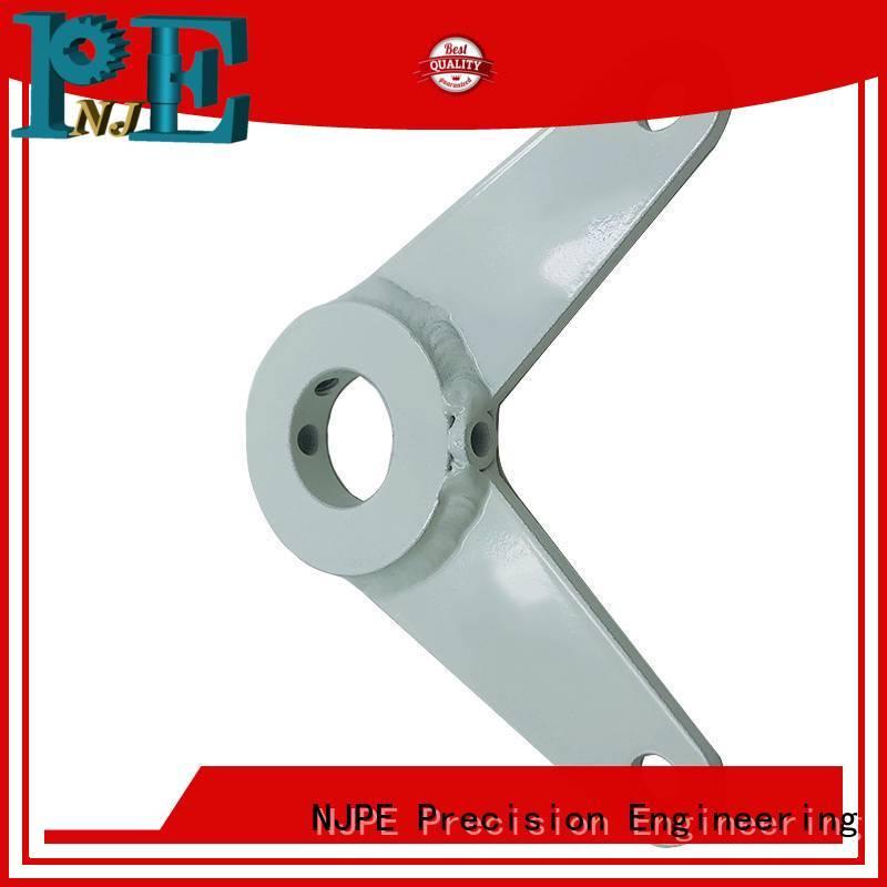 NJPE steel sheet metal fabrication burlington supply for industrial automation