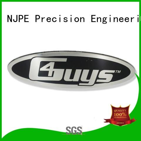 NJPE standard stamping sheet metal at home for business for equipments
