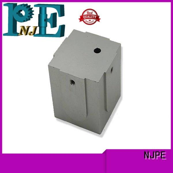 NJPE adjusted cnc turning service factory price for industrial automation
