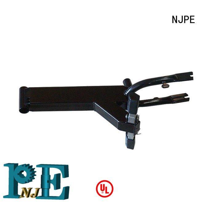 NJPE aluminum bent metal fabrication manufacturer for equipments