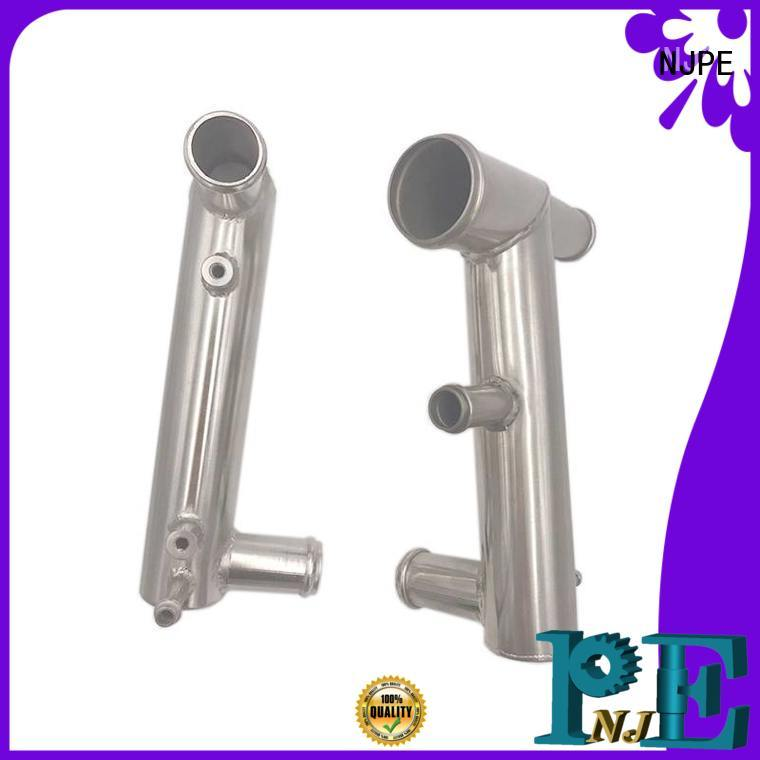 NJPE Custom bend a tube supply for air valve