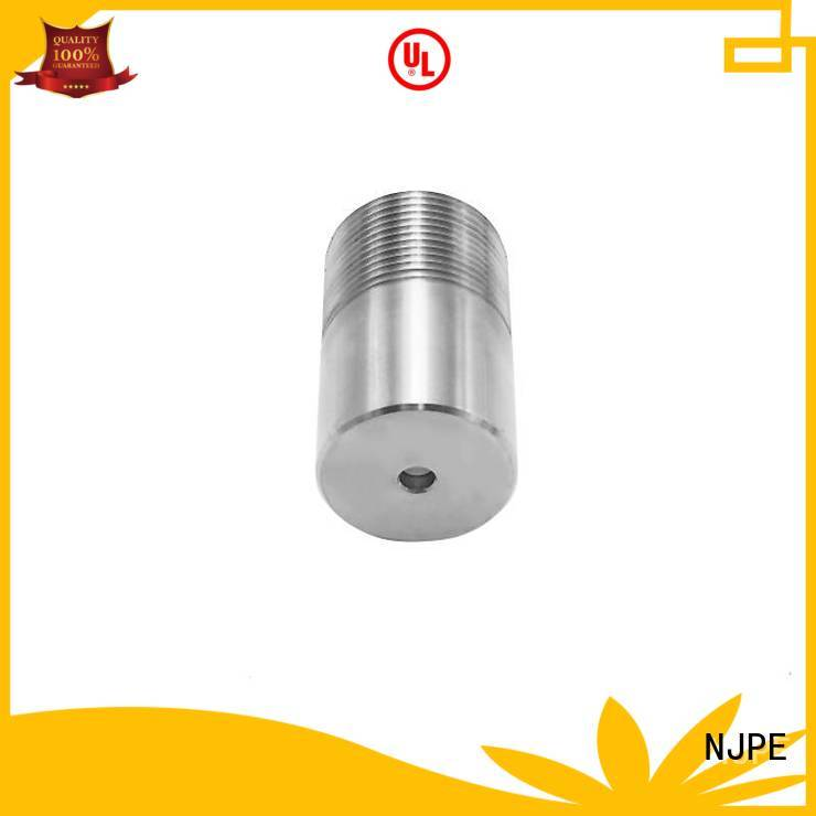 NJPE components cnc milling tools marketing for air valve