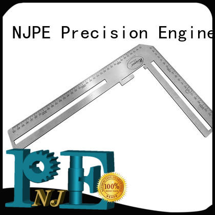 NJPE Custom cnc milling parts factory price for equipments
