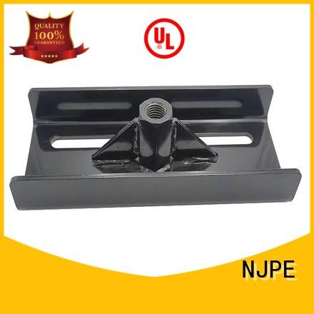 NJPE widely used sheet metal box fabrication overseas market for air valve