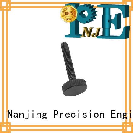 NJPE flexible machine parts machining for equipements