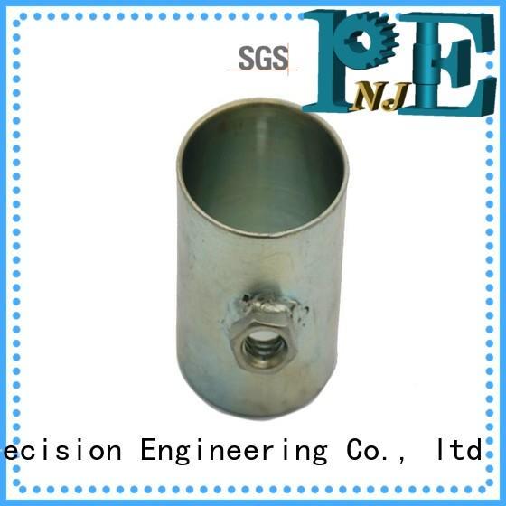 NJPE Top sheet metal bracket manufacturing process overseas market for air valve