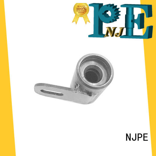 NJPE valve cnc milling parts company for equipments