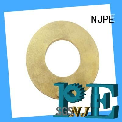 NJPE security cnc components machined for air valve