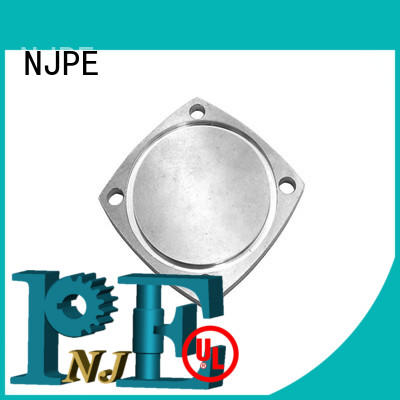 NJPE machined five axis machining manufacturer for industrial automation