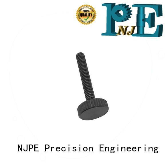 NJPE detailed machine parts manufacturer for air valve