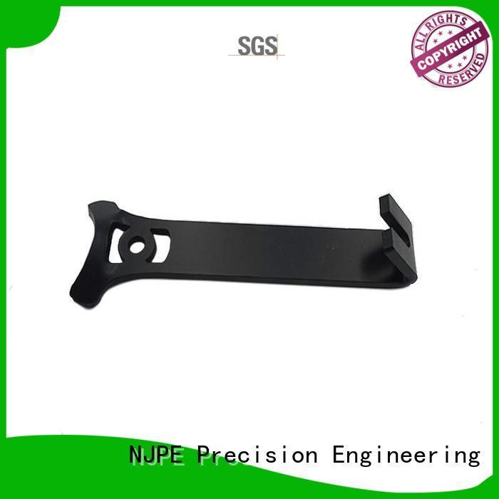 NJPE aluminum precision machining services marketing for automobile