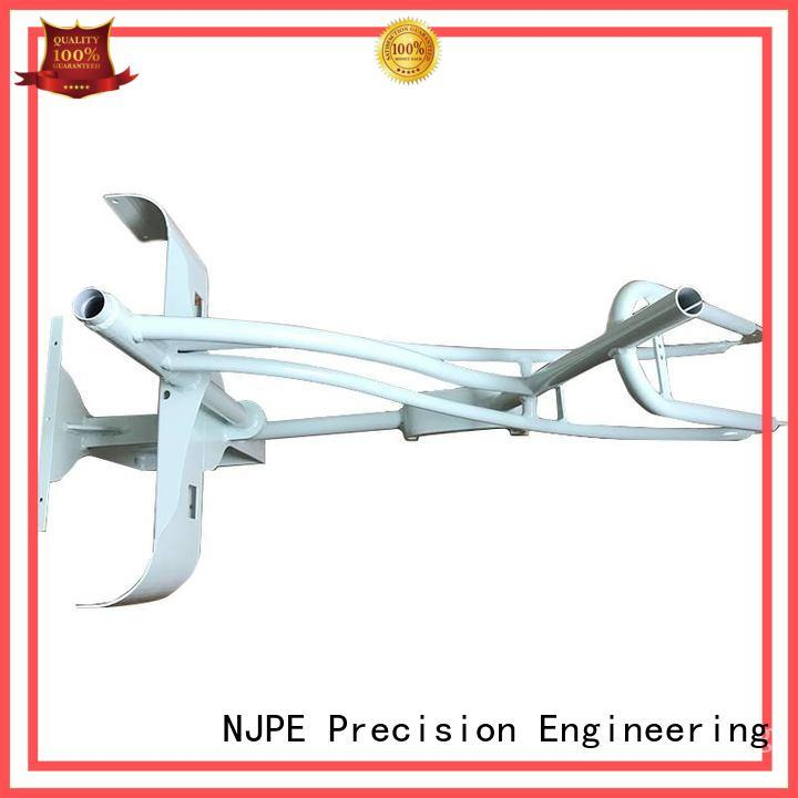 NJPE laser sheet metal fabrication from china for industrial automation