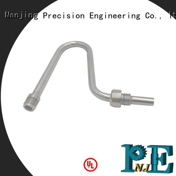 NJPE mandrel bent square tubing manufacturers for industrial automation
