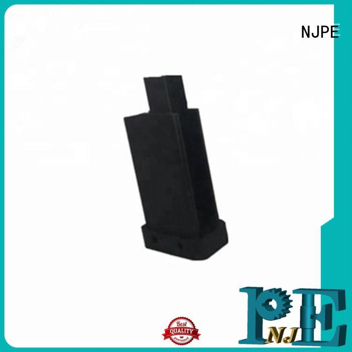 NJPE shaft precision cnc machining services factory price for industrial automation