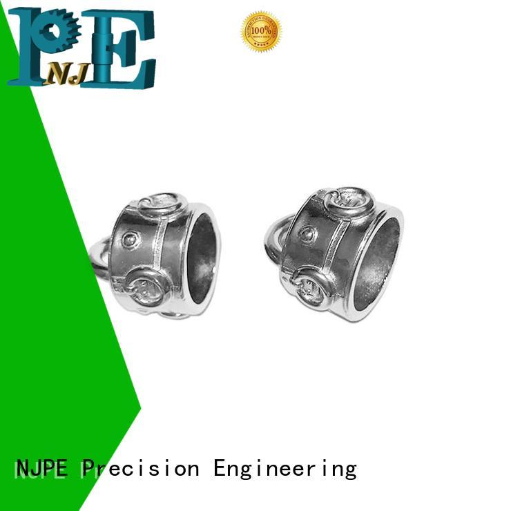 NJPE professional advance cnc machining overseas market for air valve