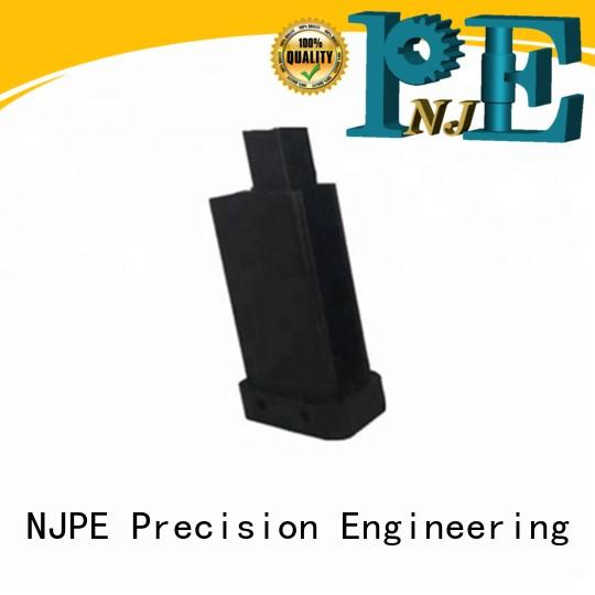 NJPE custmized rapid cnc services simple operation for air valve