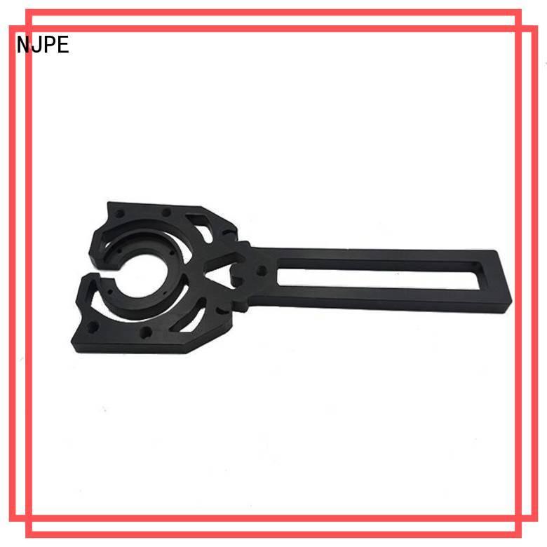 NJPE machine cnc machining materials manufacturers for air valve