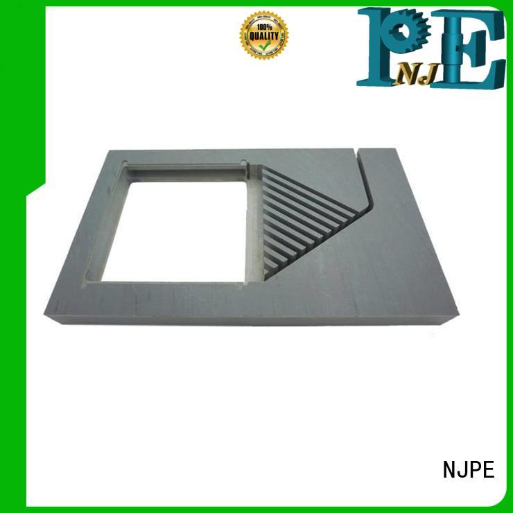 NJPE hexagonal cnc machining materials factory for industrial automation