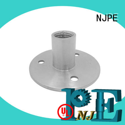 NJPE security cnc machining china simple operation for air valve