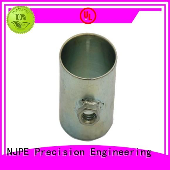 NJPE spoon custom steel fabrication shop now for industrial automation