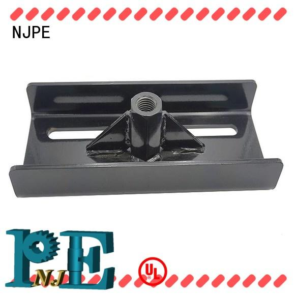 NJPE surface accurate metal fabricating supply for equipments