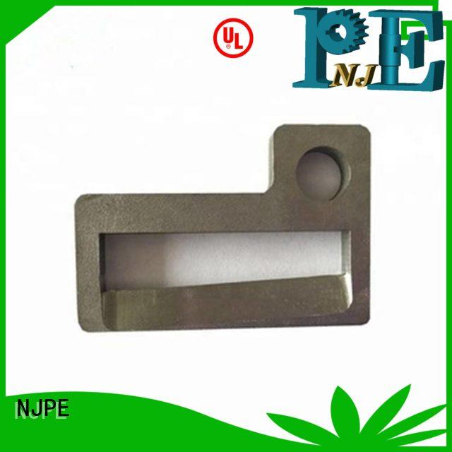 NJPE New cnc machining process in china for equipments