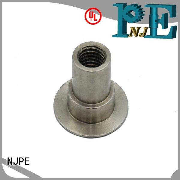 detailed machining parts turned factory price for industrial automation
