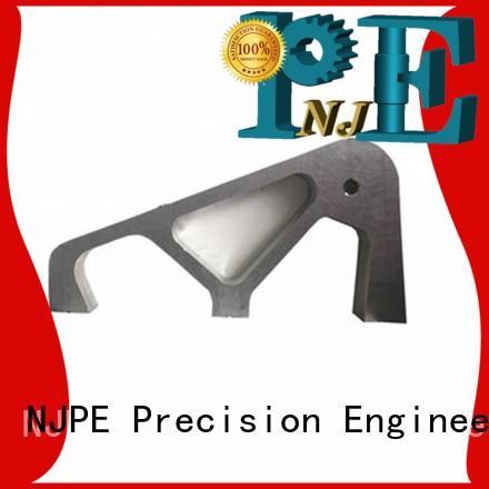 NJPE aluminum 3d cnc milling suppliers for equipments