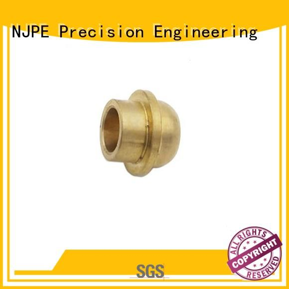 NJPE smooth machining parts factory price for air valve
