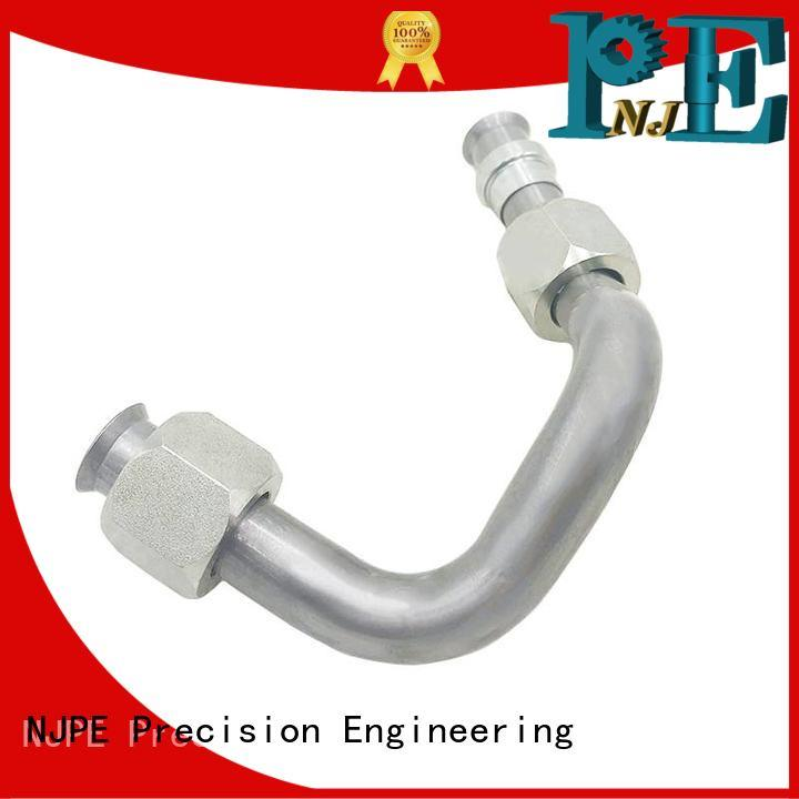 NJPE ss pipe bending for business for industrial automation