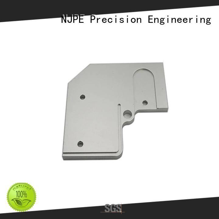 custom cnc machining turning for air valve NJPE
