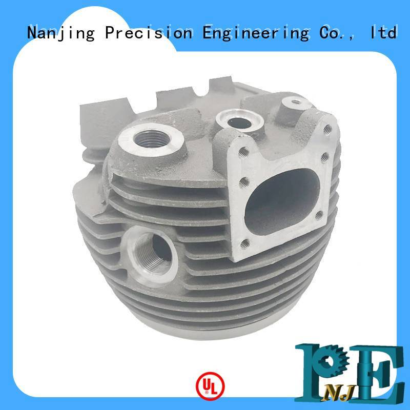 NJPE baggage custom aluminum milling factory for industrial automation