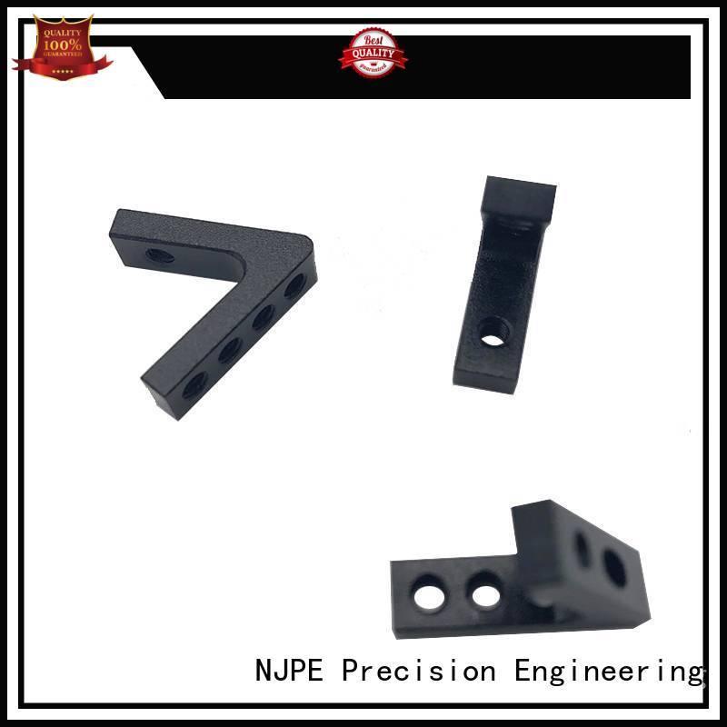 NJPE smooth cnc aluminum factory for air valve